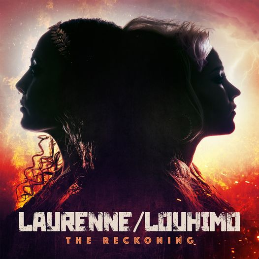 """Read more about the article LAURENNE/LOUHIMO – 'Bitch Fire' kündigt Debütalbum """"The Reckoning"""" an"""