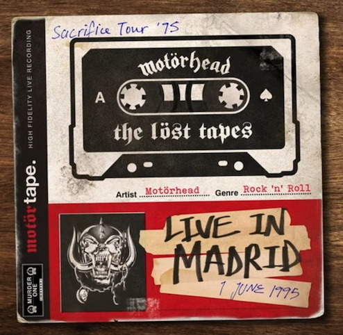 """MOTÖRHEAD – """"The Löst Tapes Volume One – Live In Madrid 1995"""""""