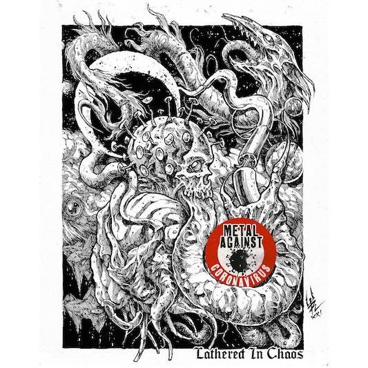 METAL AGAINST CORONAVIRUS – 'Lathered In Chaos' MASSACRE, PENTAGRAM, BRUJERIA