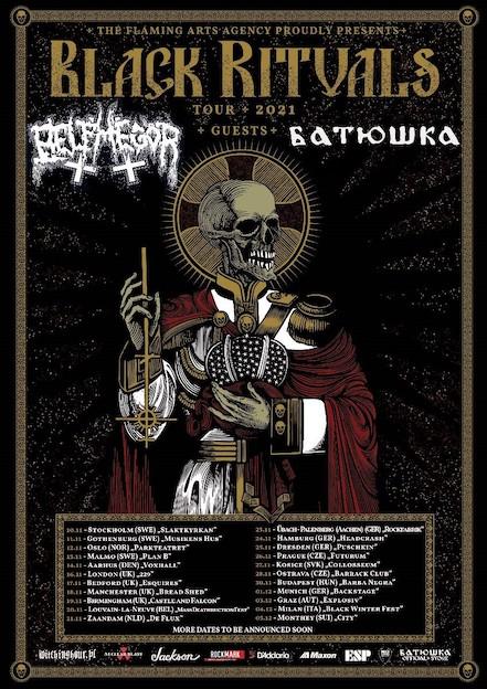 """BELPHEGOR – Kündigen """"Black Rituals"""" Tour mit BATUSHKA für den Herbst an"""