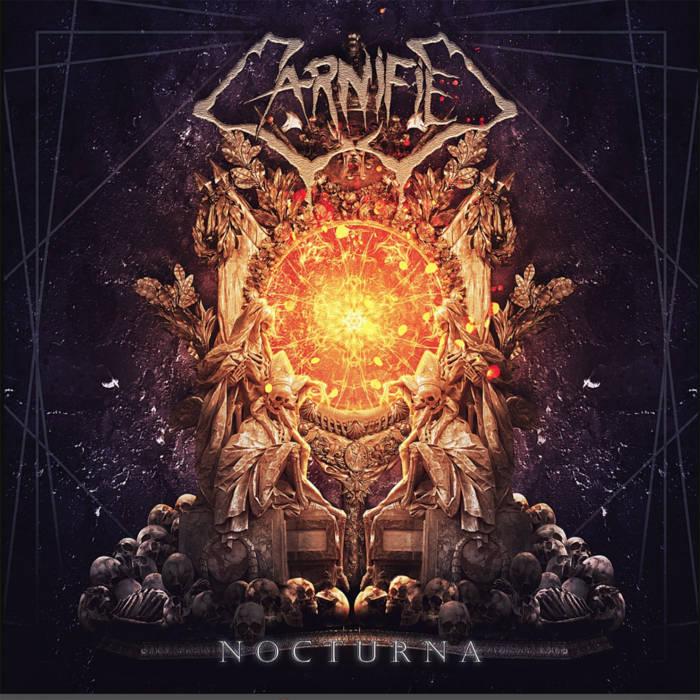 CARNIFIED mit SARAH JEZEBEL DEVA (ex-Cradle Of Filth) 'Nocturna' Single