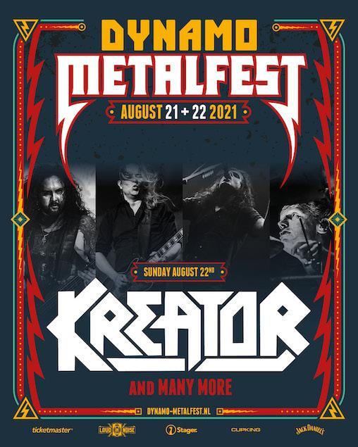 KREATOR ersetzen AMON AMARTH beim Dynamo Metalfest