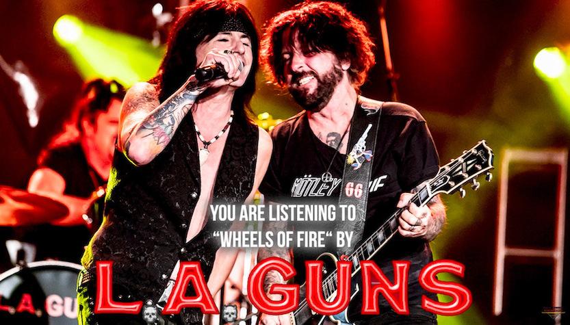 """L.A. GUNS –  Liveversion von 'Wheels Of Fire' kündigt """"Cocked & Loaded Live"""" an"""