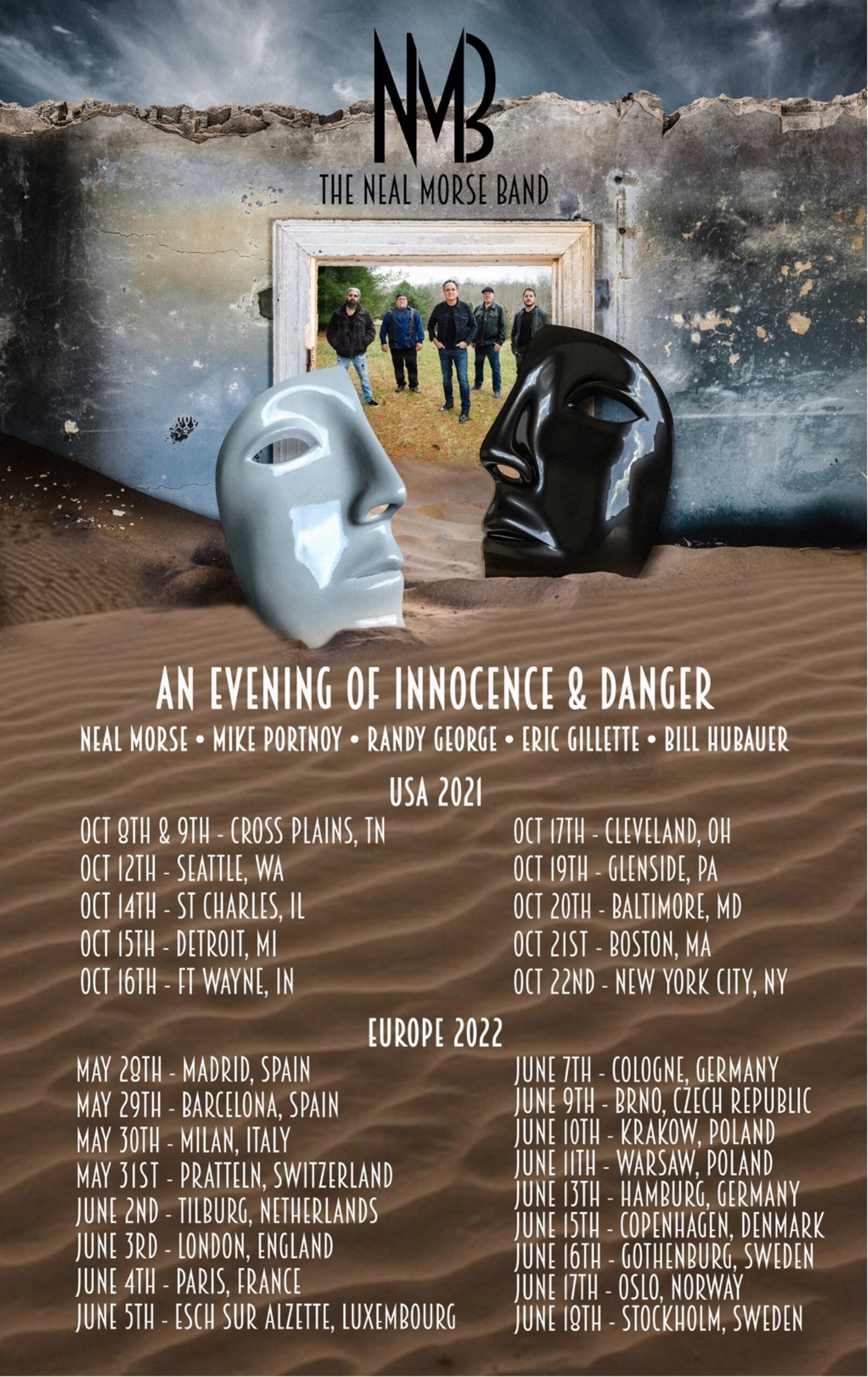 You are currently viewing Neal Morse Band mit viertem Album & Tourdates