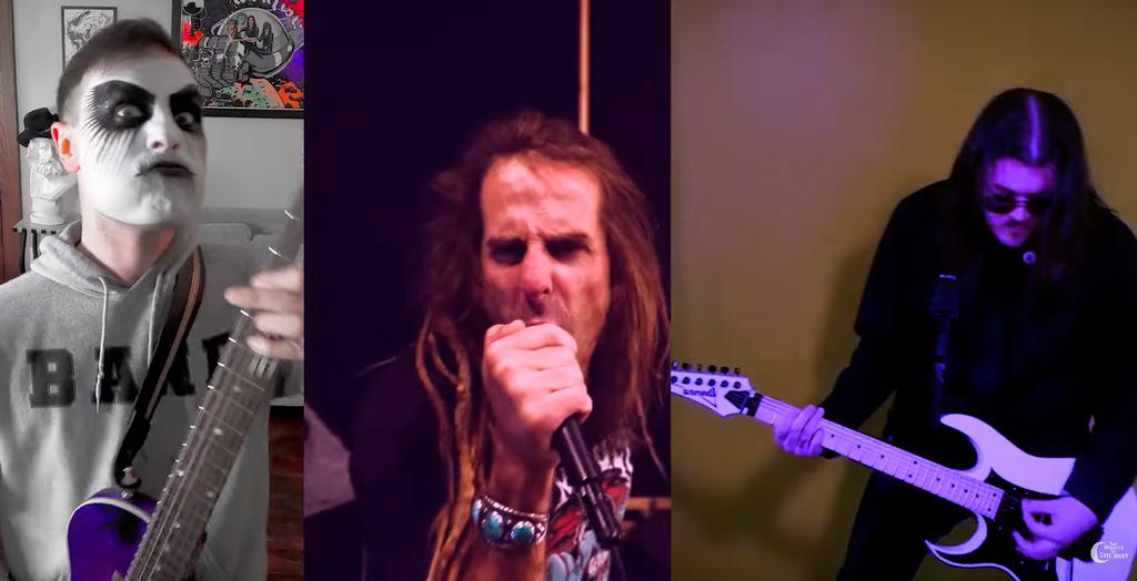 Lamb of God Frontman RANDY  BLYTHE mit 20 Musikern –  'I Would Die 4 U' Cover