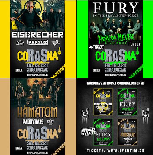You are currently viewing ROCK AM STÜCK – Konzertreihe mit EISBRECHER, FURY IN THE SLAUGHTERHOUSE und HÄMATOM