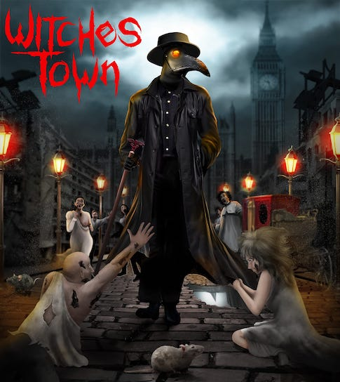 You are currently viewing Heavy Metaller mit Death Einfluss: WITCHES TOWN – 'Scream In The Silence'