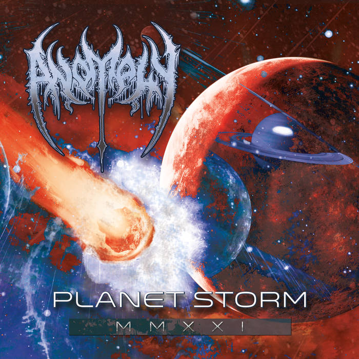 """You are currently viewing Death Metaller ANOMALY – Starten Pre-Release Stream für """"Planet Storm"""" Album"""