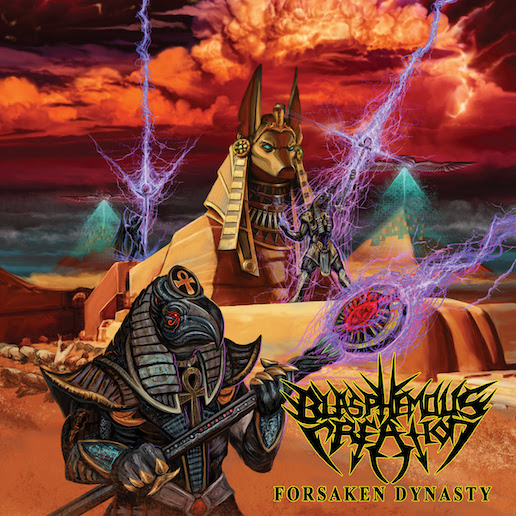 You are currently viewing Old School US Thrasher BLASPHEMOUS CREATION – 'Vindication Scourge'