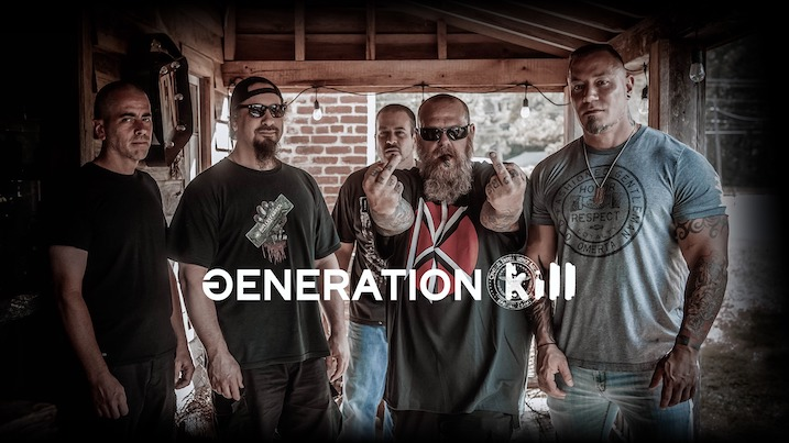 You are currently viewing ROB DUKES (ex-Exodus) GENERATION KILL enthüllt neuen Track –  'Into The Black'