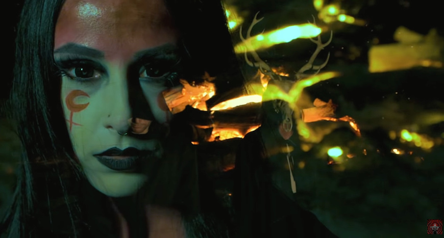 """You are currently viewing NECROFIER – Black Metal meets Thrash """"The Black Flame Burns"""""""