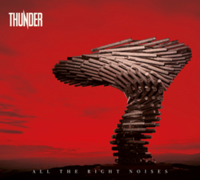"""You are currently viewing THUNDER – Kündigen """"Expanded Edition"""" von """"All The Right Noises"""" an + 'Firebird' Stream"""