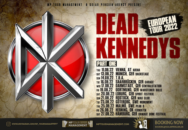 You are currently viewing DEAD KENNEDYS kommen auf Tour
