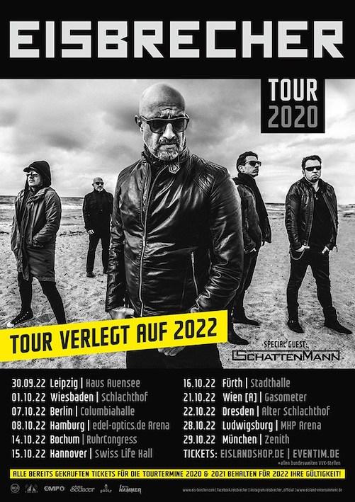 Read more about the article EISBRECHER – Tour erneut verschoben