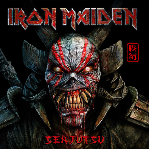 """You are currently viewing IRON MAIDEN streamen """"Senjutsu"""" Songs"""