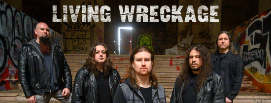 You are currently viewing LIVING WRECKAGE (Anthrax, Shadows Fall Member) – 'One Foot In The Grave' Video