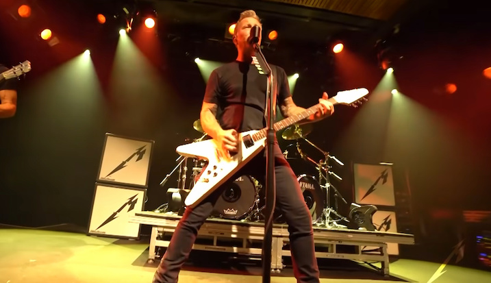 You are currently viewing METALLICA – Neues Livevideo für 'Creeping Death'