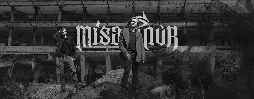 You are currently viewing MISANTHUR – Schwarzmetallisch im  'On The Heights Of Despair' Clip