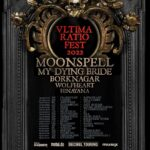 """MOONSPELL -""""Ultima Ratio Fest"""" Europa Tour 2022 mit MY DYING BRIDE, BORKNAGAR, WOLFHEART + HINAYANA!"""