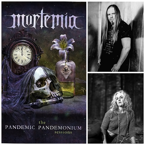 You are currently viewing Morten Veland´s (Ex-Tristania, Sirenia) MORTEMIA ft. Liv Kristine – 'Decadence Deepens Within' Single