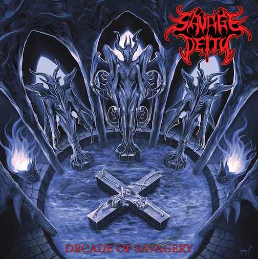 You are currently viewing SAVAGE DEITY – OSDM aus Thailand: 'Decade of Savagery'