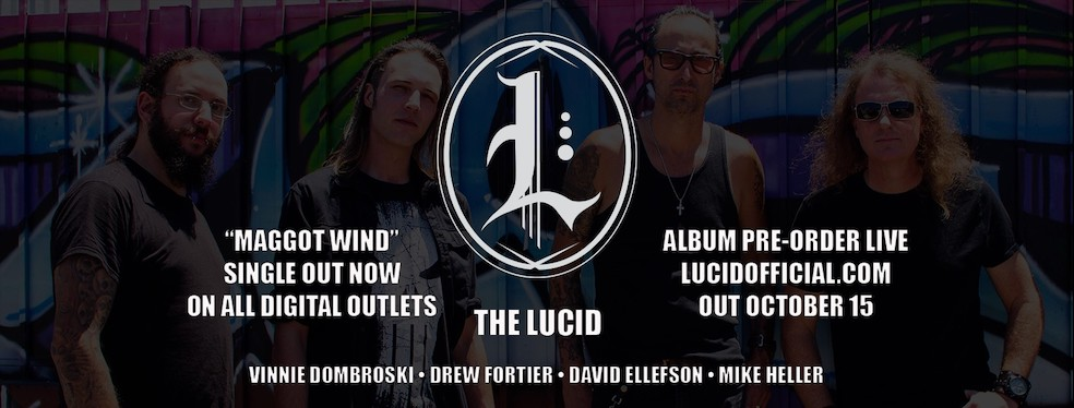 You are currently viewing David Ellefsons neue Band THE LUCID – 'Maggot Wind'