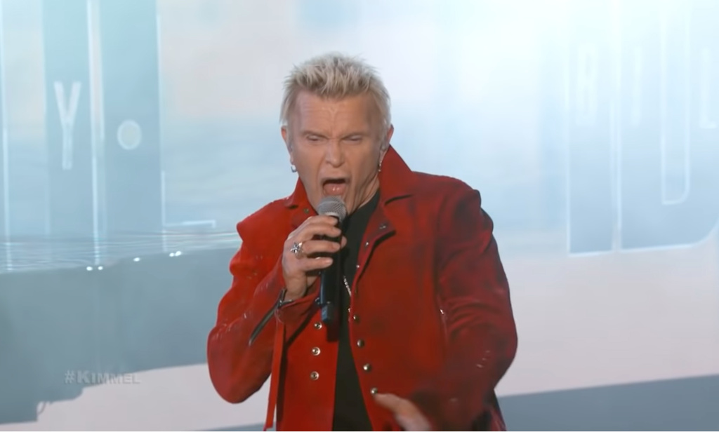 You are currently viewing BILLY IDOL – 'Bitter Taste' Live TV Auftritt