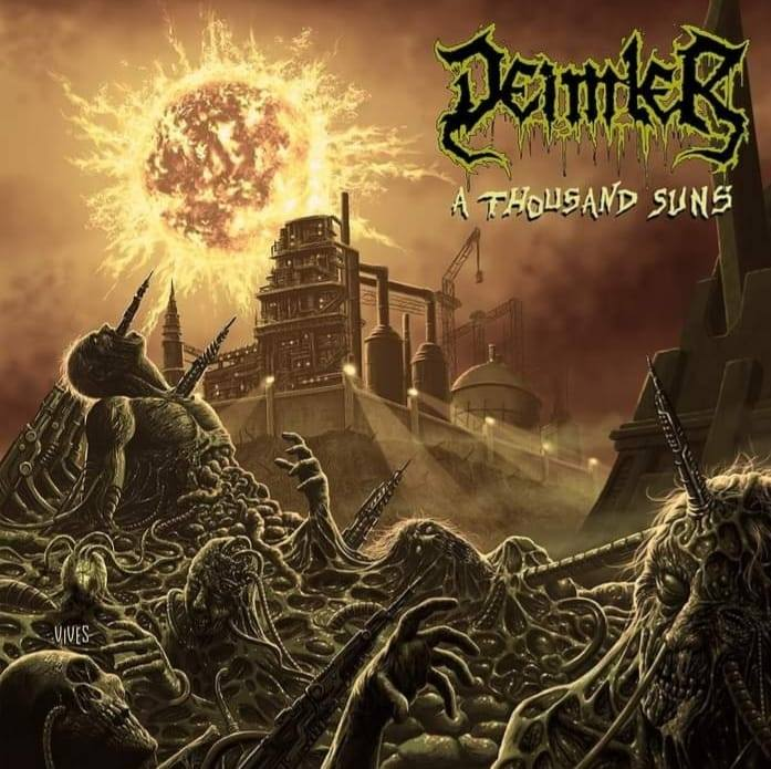 You are currently viewing Death Metaller DEIMLER – 'A Thousand Suns' Video