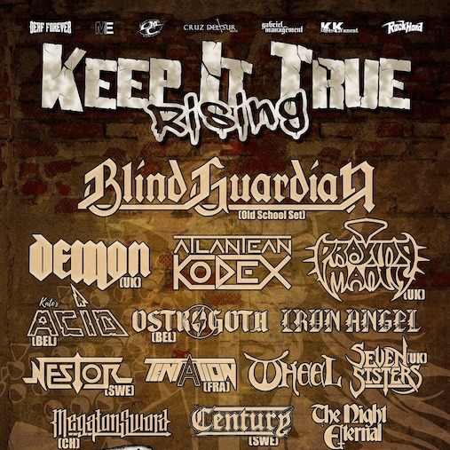 """You are currently viewing """"KEEP IT TRUE""""  mit großem Line-Up: Blind Guardian, Demon, Praying Mantis, Ostrogoth u.v.m"""